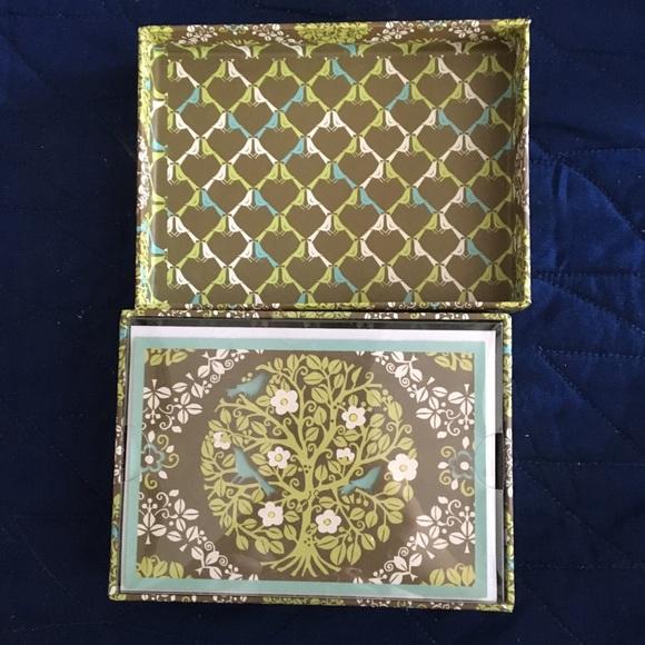 Vera Bradley Other - Vera Bradley notecards - Sittin' in a Tree pattern